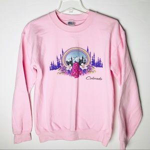 Pink Colorado Sweatshirt